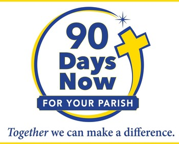 90 days for your parish. Be sure to select Corpus Christi Lawrence! Click here to donate